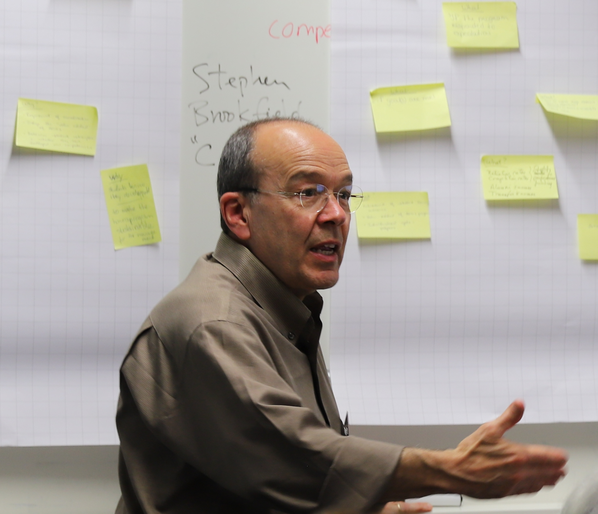 John Zubizarreta co-led an international faculty institute on honors education in Groningen, The Netherlands