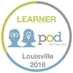 POD Network 2016 Learner Badge