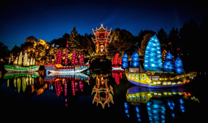 E5. Gardens of Light Walking Tour–Between Sky & Water, Montreal Botanical Gardens