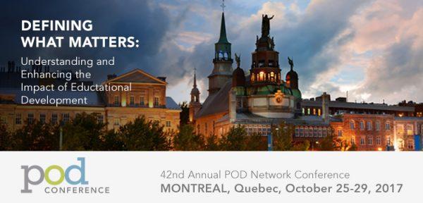 Defining What Matters: 42nd Annual POD Network Conference